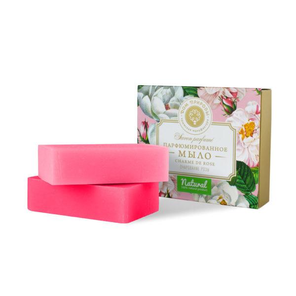 Парфюмированное мыло Charme de Rose Очарование розы