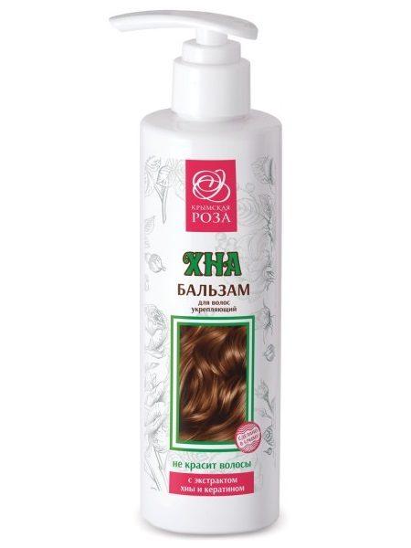 Крымский Бальзам для волос ХНА укрепляющий для всех типов волос 250 мл