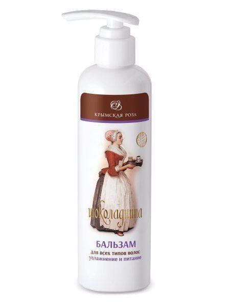 Крымский Бальзам для всех типов волос Увлажнение и Питание Шоколадница 250 мл
