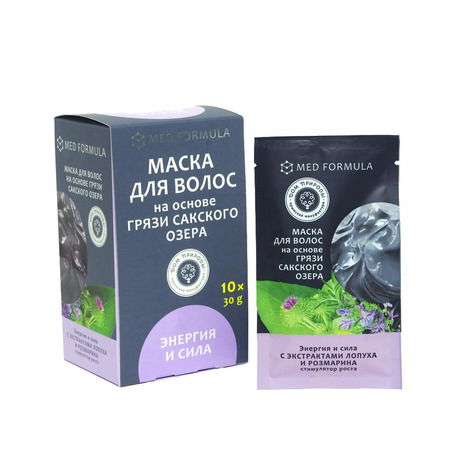 Крым купить косметику Маска для волос на основе грязи Сакского озера Энергия и сила
