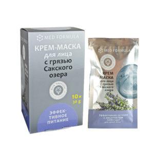 Косметика Крыма - Крем-маска с Грязью Сакского озера Эффективное питание