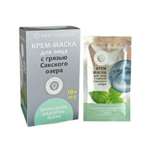 Косметика Крыма - Крем-маска с Грязью Сакского озера Природное оздоровление