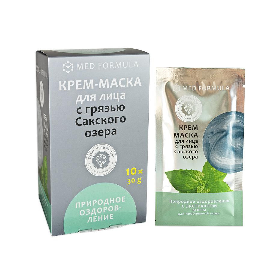Крем-маска с грязью Природное оздоровление