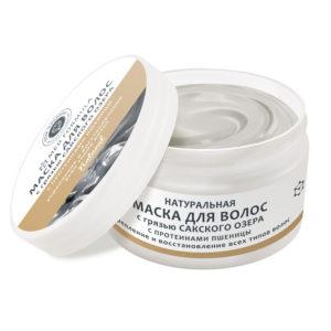 Крым купить косметику - Натуральная маска для волос с грязью Сакского озера С протеинами пшеницы