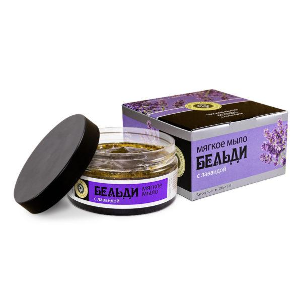 Крымская косметика - Мыло Бельди с лавандой