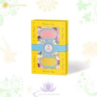 Парфюмированное мыло «Цветущий сад» магнолия-тюльпан