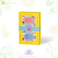 Парфюмированное мыло «Цветущий сад» гортензия-пион