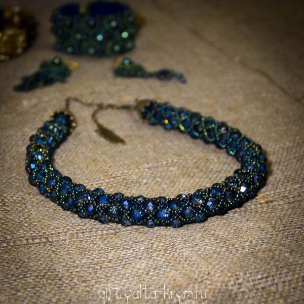 Ожерелье из бисера в Ялте, хендмейд в Ялте Крым