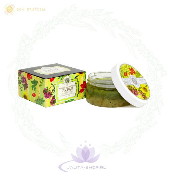 Антицеллюлитный скраб для тела Крымские травы 300 гр