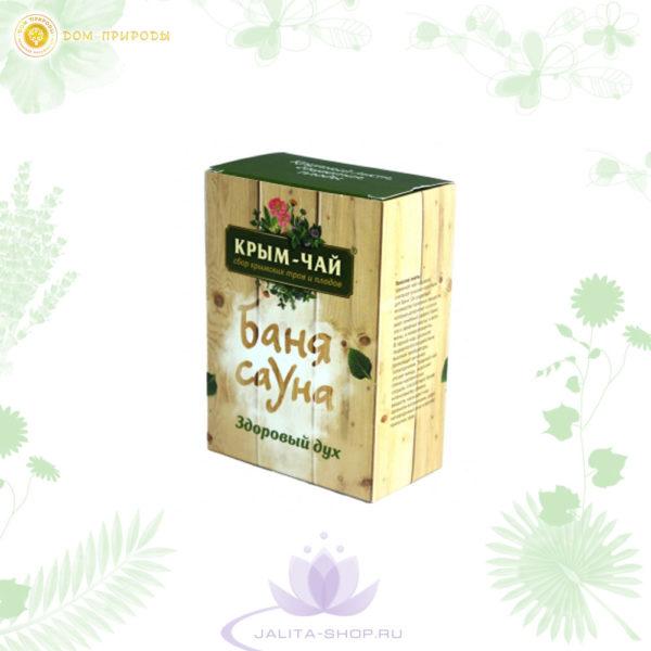 Крымский чай Здоровый дух (серия Баня-Сауна), 90 г
