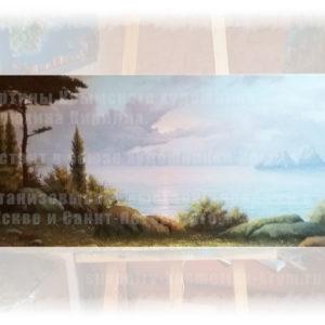 Картина Морской пейзаж крымского художника Кирюхина Кирилла
