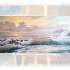 Картина морской пейзаж. Картина Кирилла Кирюхина