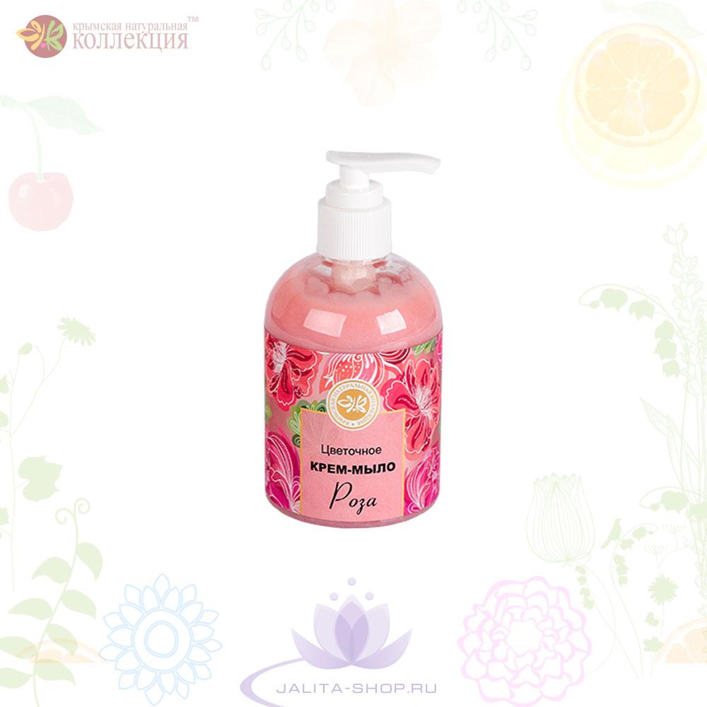 Цветочное крем-мыло «Роза» 260 г.