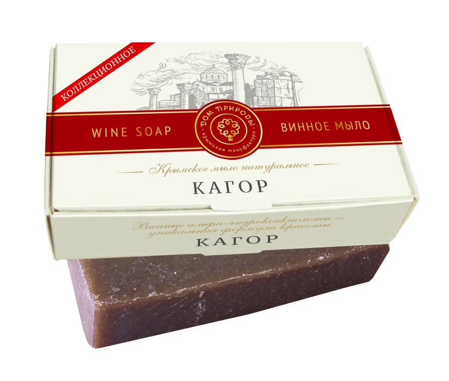 Крымское мыло натуральное КАГОР с винными α-гидроксикислотами