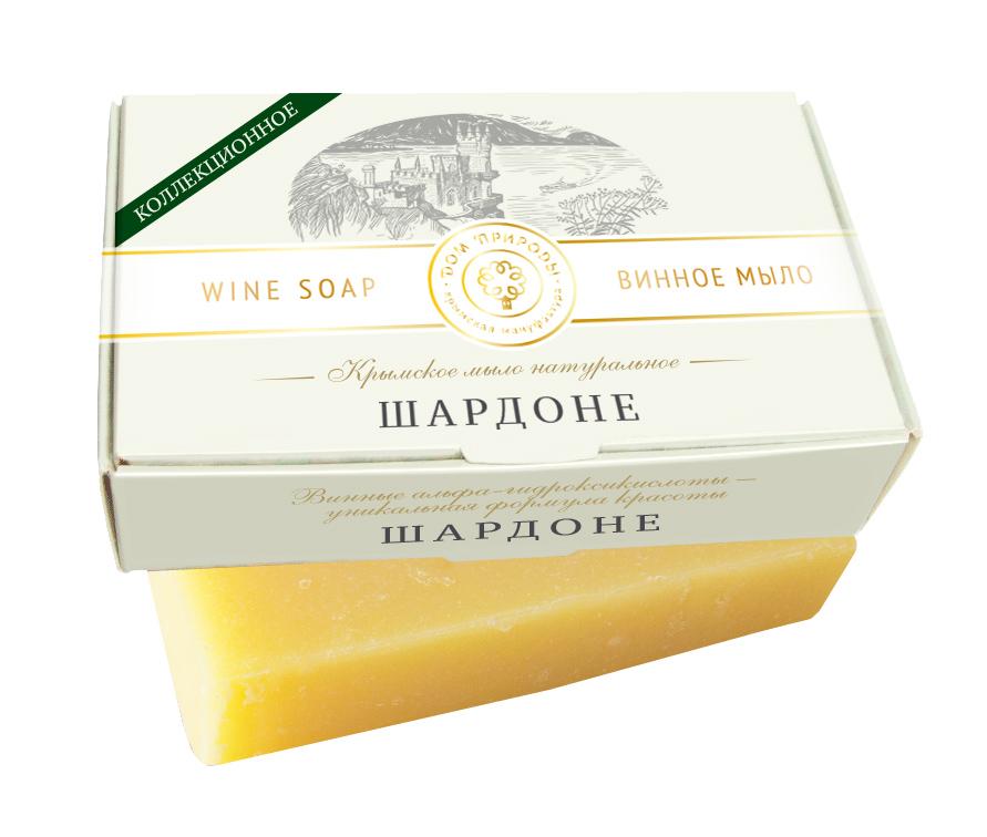 Крым Купить Крымское мыло натуральное ШАРДОНЕ с винными α-гидроксикислотами, салициловой кислотой и ретинолом