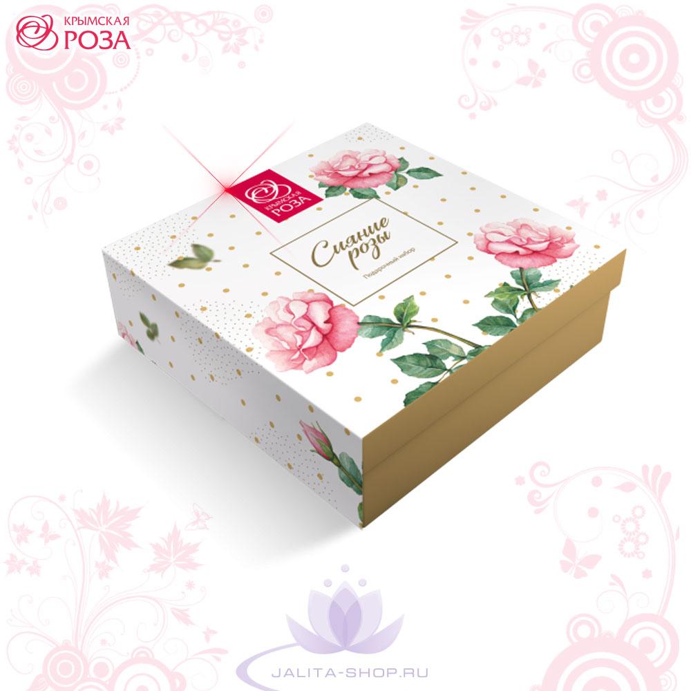 Подарочный набор «Сияние розы» Крымская Роза