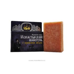 Крымская косметика - Твердый шампунь с крымским мёдом