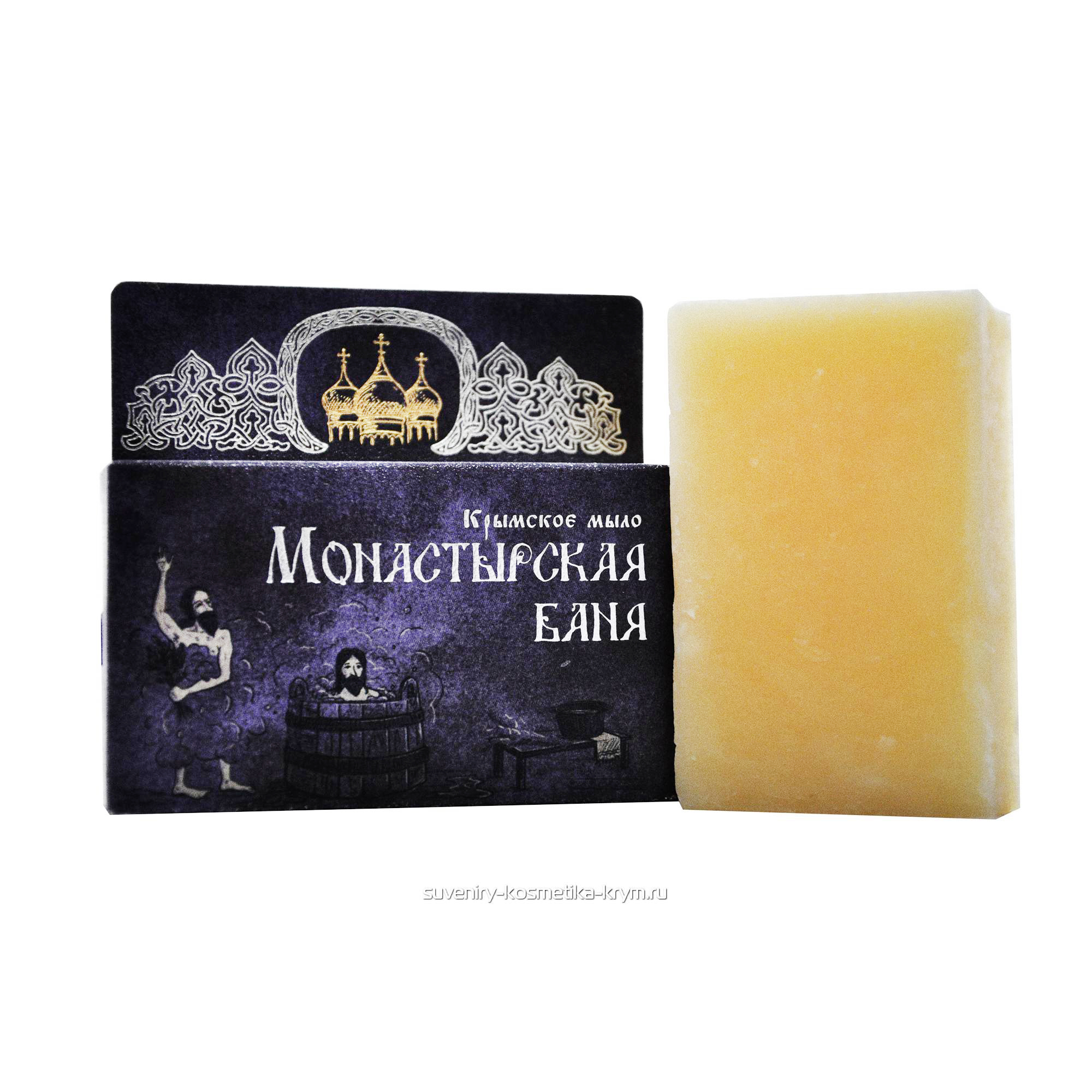 """Натуральное мыло """"Монастырская баня"""""""