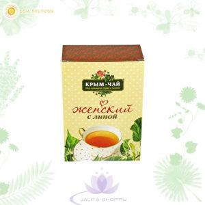 Купить крымский чай с липой для женщин, 70 г
