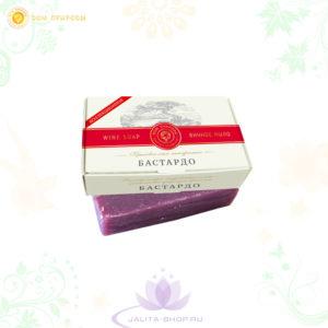 Купить крымское мыло натуральное БАСТАРДО с винными α-гидроксикислотами, медом и витамином Е - Москва Ялта Крым