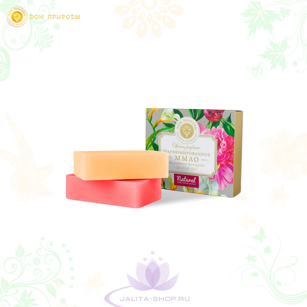 Парфюмированное мыло «Цветочный букет»