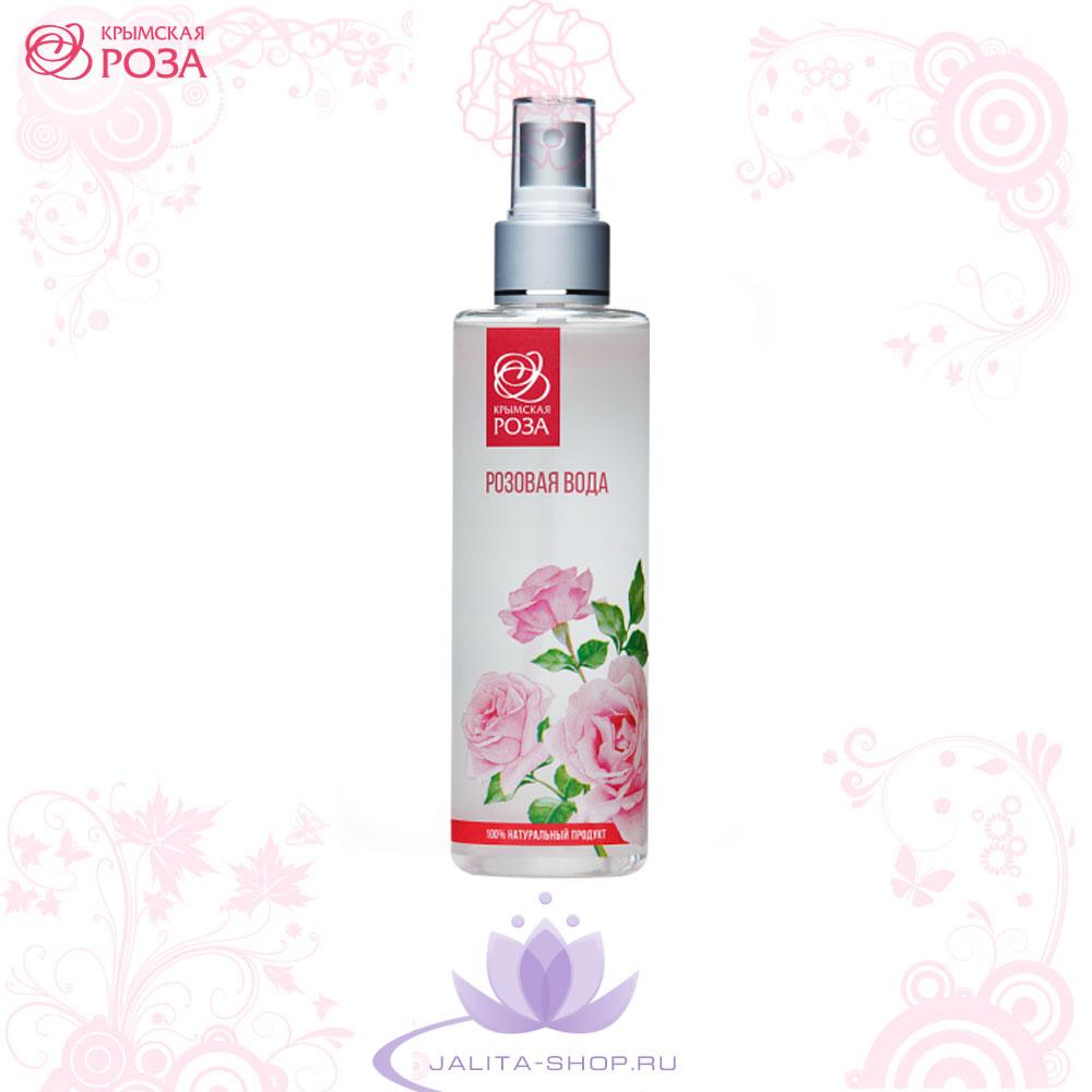 Натуральная Розовая вода от Крымская Роза