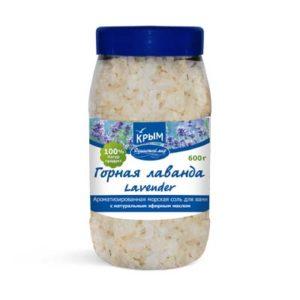 Крымская косметика - Морская соль Горная лаванда