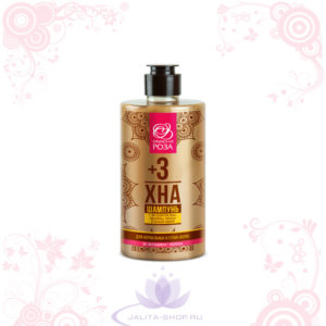 Шампунь «ХНА+3» для нормальных и сухих волос