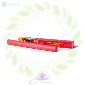 Свеча ароматическая Праздничная 80 г