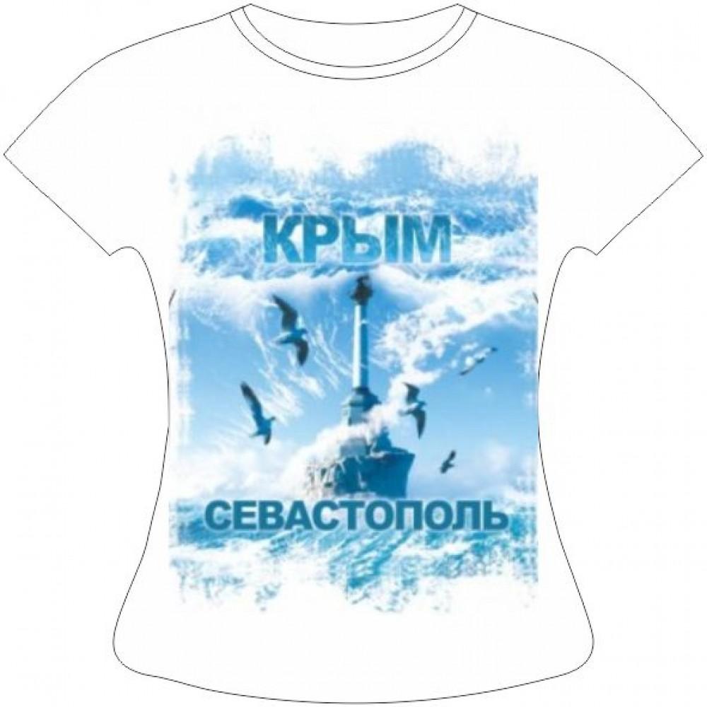 Женская футболка Севастополь Чайки